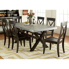 Trestle Dining Room Table by A America West Valley Rectangular Bluestone Table Hayneedle