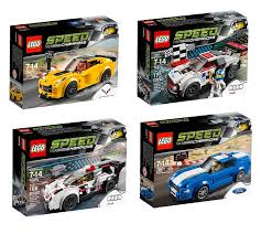 lego ford amazon com lego speed champions 4 set toy car bundle chevrolet