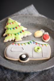 Retro Christmas Lights by Airstream Camper Christmas Cookies Sugar Cookies U0026 Royal Icing