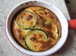 cuisiner courgette clafoutis de courgettes aux échalotes un deux trois petits