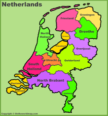 map of province netherlands provinces map list of netherlands provinces