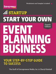 start your own event planning business 4th edition entrepreneur