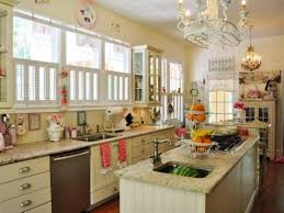 Vintage Kitchen Furniture Vintage Kitchen Ideas With Chandeliers And Decoration