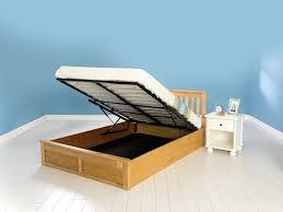 Wood Ottoman Bed Gfw Como 5ft Kingsize Oak Veneer Ottoman Lift Wooden Bed Frame By Gfw
