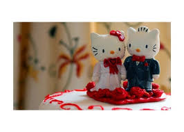 hello wedding cake topper hellokitty wedding cake topper by jensensi on deviantart