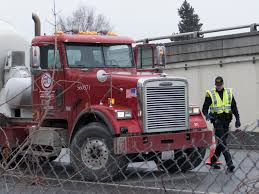 pedestrian hit by cement truck on i 90 the spokesman review