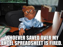 What Is A Meme Exle - marianne hawthorne meme work whoever saved over my excel spreadsheet