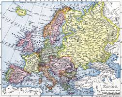 Map Of Europe In 1914 by Hijacked History