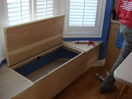 how to build a window seat with storage home design ideas and