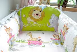 Nursery Cot Bedding Sets Custom Available Baby Cot Bumper Babies Cribs Infant