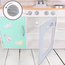 Wooden Clothes Dryer Wildbird Care Kids Dollhouse Kitchen Double Side Wooden Playsets
