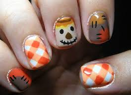16 fall nail art designs you u0027ll fall in love with scarecrows