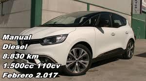 renault scenic dci zen energy manual diesel 8 830km 110cv en
