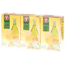 vin blanc sec cuisine vin blanc sec de table brique 3x25cl tous les produits vins