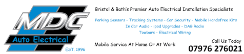 parrot handsfree car kits fitted in bristol bath somerset