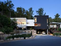3 storey house archgen com black and white timber clad 3 storey house