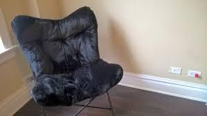 Leather Papasan Cushion by Furniture Faux Fur Papasan Cushion Butterfly Chair Cushion