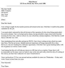 cover letter for professor position cover letter for preschool