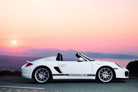 pink porsche boxster porsche boxster spyder new lightweight model unveiled ahead of la
