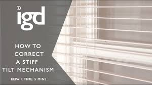 wooden blinds direct how to correct a stiff tilt mechanism youtube