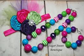 chunky bead necklace images Chunky toddler bubble gum bead necklaces jpg