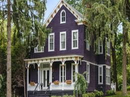 purple exterior paint purple victorian home purple exterior paint