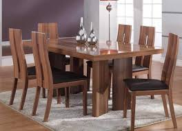 apartments contemporary teak wood dining table with high dining