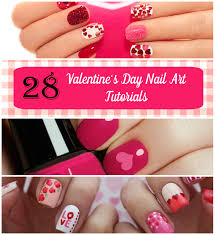 28 valentines day nail art tutorials di candia fashion