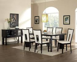 stunning dining room table and chairs concept in home interior