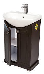 dazzle modular bwr plywood vanity washbasin cabinet wallnut wenge