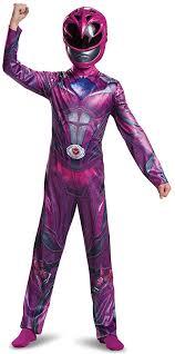 Power Ranger Halloween Costume Power Rangers Movie Pink Ranger Child Costume Costume Castle
