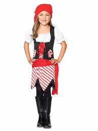 Girls Halloween Pirate Costume Petite Pirate Child Costume Girls
