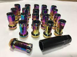 lexus gs is lexus gs is steel extended slim lug nuts 20pc kit 12x1 5mm neo