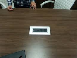 conference table power outlets plt b power conference table power outlet data port connectivity box
