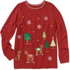 sweater walmart white stag s plus size sweater white stag s