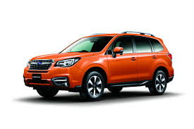 subaru sport car 2017 2017 subaru forester facelift revealed ahead of tokyo motor show