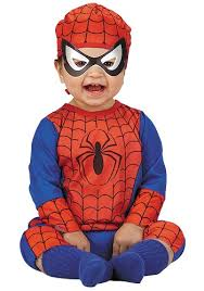 Spider Halloween Costume Baby Infants Spider Man Halloween Costumes