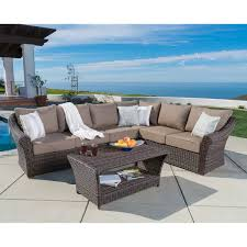 Curved Patio Sofa by Seating Sets Costco