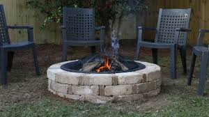 how to build a backyard fire pit from a kit today u0027s homeowner