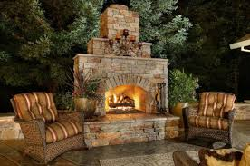 outdoor fireplace installation amazing concept dining room on