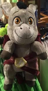 studios shrek 4 baby donkey blanket plush tags