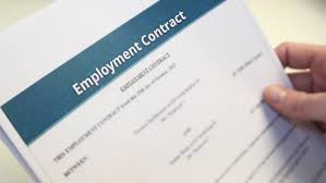 hands on blank rental agreement forms in male hands renting is an