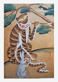 if there wasn u0027t a korean folktale about tigers smoking with