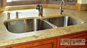 undermount sink concrete countertop countertop kitchen sink meetly co