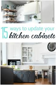 update kitchen cabinets 15 amazing ways to redo kitchen cabinets lovely etc