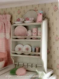Shabby Chic Plate Rack by 400 Best Miniatures Shabby Chic Country Cottage Images On