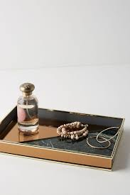 rose gold vanity table anthropologie rose gold vanity tray best jewelry organizers