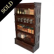 antique stacking bookcase oak bookcase by globe wernicke