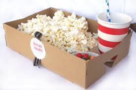 food tray with drink holdersset of 10 brown kraft movie