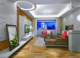 Simple Bedroom Ceiling Design  Of Simple Cool And Masculine - Modern living room ceiling design